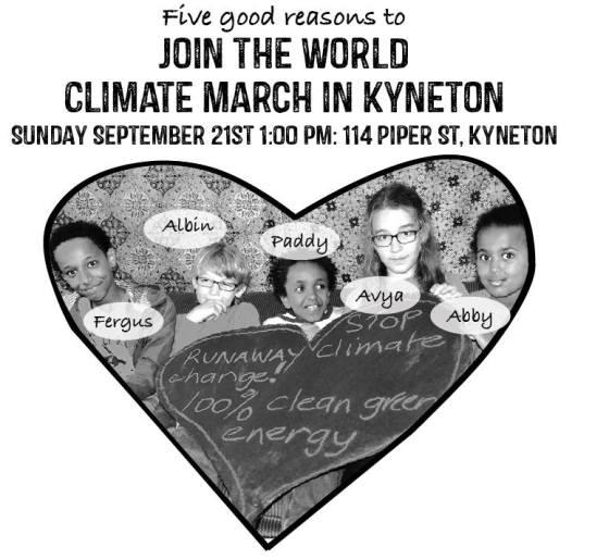 kyneton climate march