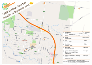 KTH Edible Gardens Open Day Map - Sept 2015 updated-1