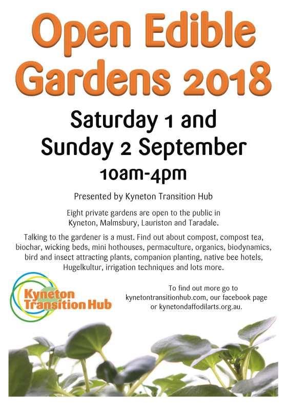 KTH Open Edible Gardens 2018 Poster_v1-1